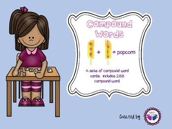 Compound Words-Great for Word Work!