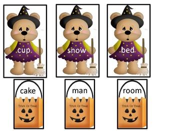 Compound Words-Halloween Theme
