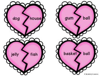 Compound Words Heart Match
