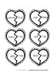 Compound Words Heart Puzzles
