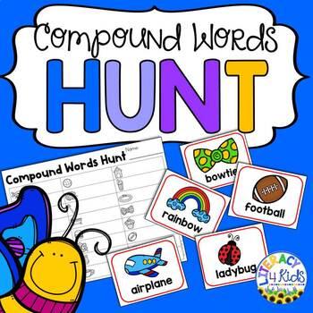Compound Words Hunt