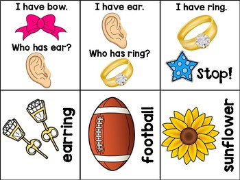 Compound Words - I Have, Who Has?