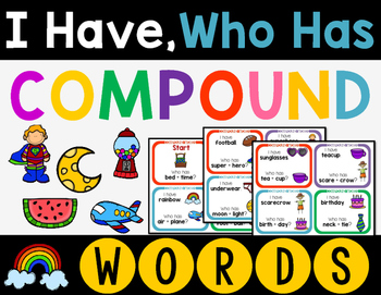 Compound Words I Have, Who Has