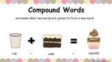 Compound Words Interactive Google Slides Mini Lesson  - RE