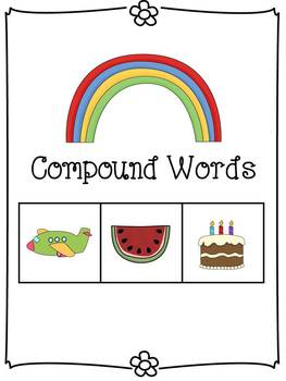 Compound Words Kit - Posters, Flashcards, Practice, and Assessment