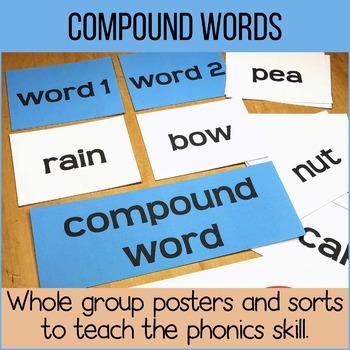 Compound Words - Printables, Sorts & Worksheets