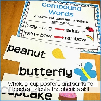 Compound Word Activities: Printables, Sorts & Worksheets