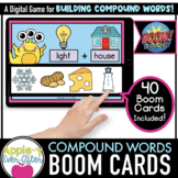 Compound Words Level 1 -  Digital Task Cards for Boom Card