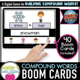 Compound Words Level 2 -  Digital Task Cards for Boom Card