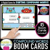 Compound Words Level 3 -  Digital Task Cards for Boom Cards™