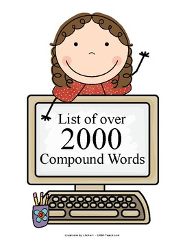 List of OVER 2000 Compound Words