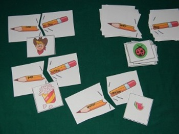 Compound Words Literacy Center, Classroom Resource Tool- Hard Good