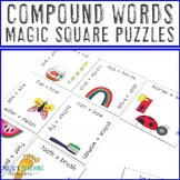 Compound Words Centers | Compound Words Activities | Compo