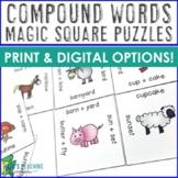 Compound Words Activities, Worksheet Alternatives, Games,