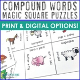 Compound Words Activities, Worksheet Alternatives, Games,