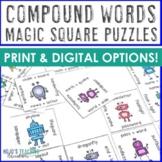 Compound Words Literacy Center Game