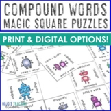 Compound Words Games, Activities, Literacy Centers, or Worksheet Alternative