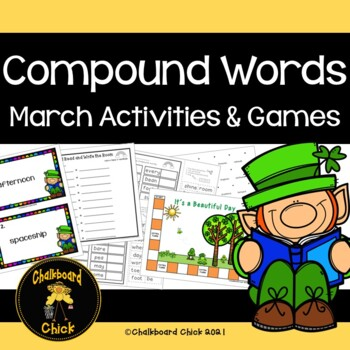 Compound Words March Activities & Games