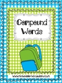 Compound Words Match Freebie