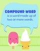 Compound Words Match N' Scoop FREEBIE