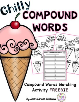 Compound Words: Matching Activity FREEBIE