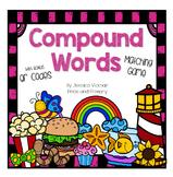 Compound Words Matching Game - Bonus QR Codes!