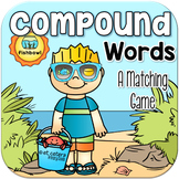 Summer Compound Words Matching Game