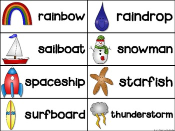 Compound Words Mega Pack of Activities and Printables {aligned with CCSS}