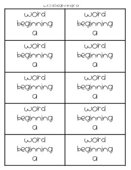 Compound Words Memory Game