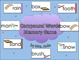 Compound Words Memory Game (with Bonus Card Game)