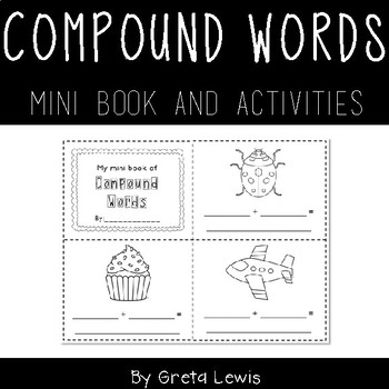 Compound Words Mini Book and Activities