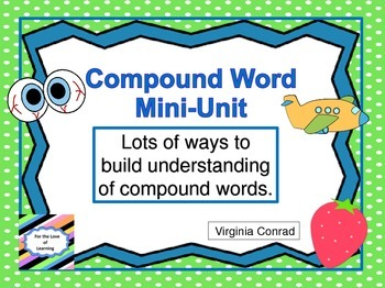 Compound Words Unit for Beginners