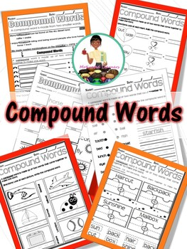 Compound Words : A Grammar Mini-Lesson (2) Assessments Included