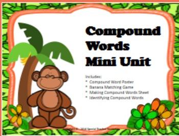 Compound Words Mini Unit