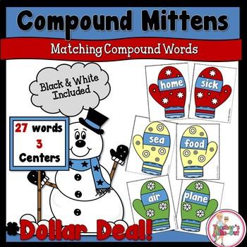 Compound Words Mitten Match