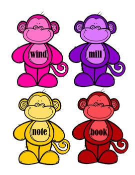 Compound Words - Monkeys