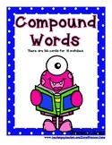 Compound Words - Monster Cards