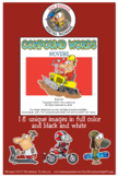 Compound Words Movers Cartoon Clipart  for ALL grades