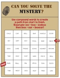 Compound Words Mystery Puzzle