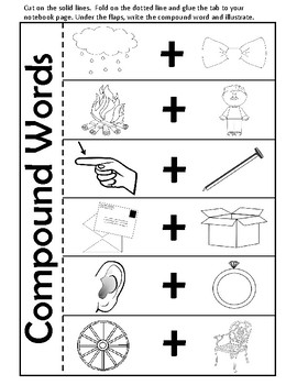 Compound Words - Worksheets, Activities