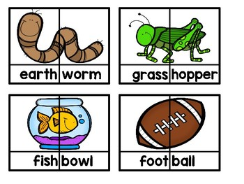 Compound Words Packet