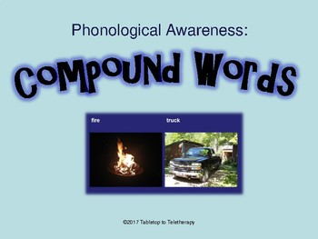 Compound Words (Phonological Awareness)