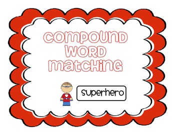 Compound Words Picture Match & Record