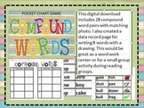Compound Words Pocket Chart Activity