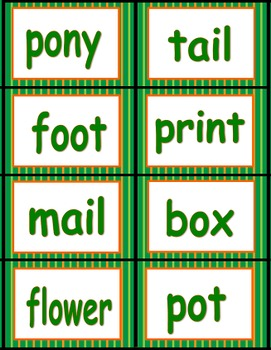 Compound Words Power Point and Activities