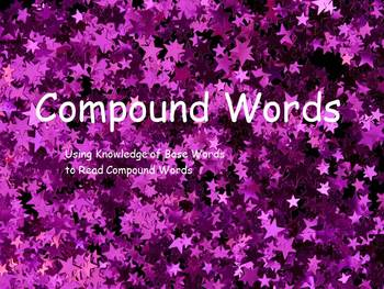 Compound Words Power Point with Graphics and Motion