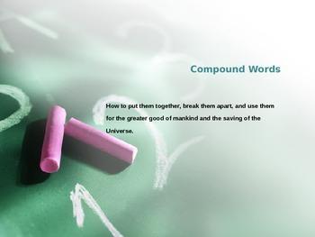 Compound Words: Powerpoint Presentation