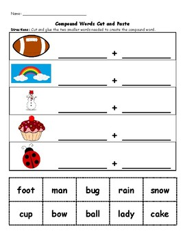 Compound Words Practice