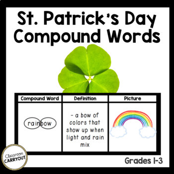 Compound Words SAINT PATRICK'S DAY Mini