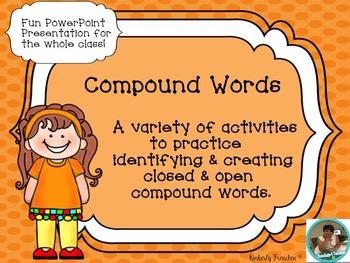 Compound Words: PowerPoint Practice & Fun Activities